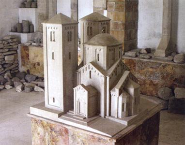 Макета цркве у камену